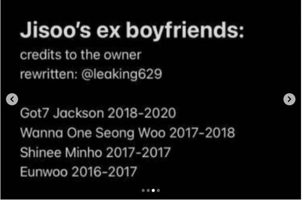 Mật báo Kbiz: Hé lộ list tình cũ của Jisoo (BLACKPINK), Lisa bị nam thần 1m91 phản bội, Kim Woo Bin - Shin Min Ah sắp cưới - Ảnh 5.