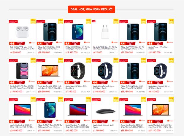 Nhiều sản phẩm Apple đang được giảm giá tới 50% trong ngày hội siêu sale 4/4 - Ảnh 2.