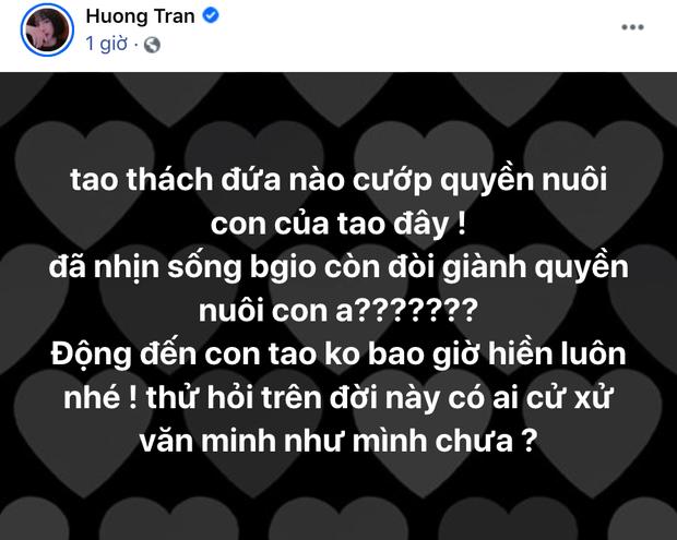 Đang yên lành, vợ cũ Việt Anh bỗng đăng đàn cực căng tố ai đó cướp quyền nuôi con? - Ảnh 1.
