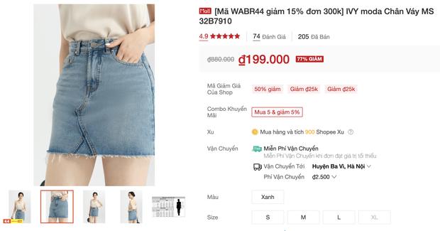 Đồ trendy rẻ đẹp sale tụt nóc ngày 4/4: Sơ mi oversize chỉ 150k, quần ống rộng xịn hết nấc chỉ từ 200k - Ảnh 15.