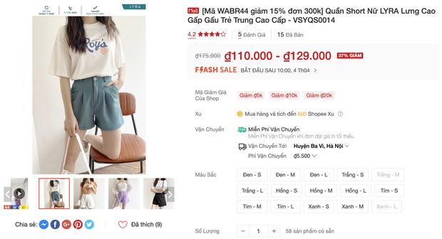 Đồ trendy rẻ đẹp sale tụt nóc ngày 4/4: Sơ mi oversize chỉ 150k, quần ống rộng xịn hết nấc chỉ từ 200k - Ảnh 13.