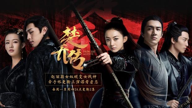 10 phim cổ trang nữ chủ có lượt xem khủng nhất: Triệu Lệ Dĩnh vượt mặt Châu Tấn và Tôn Lệ - Ảnh 1.