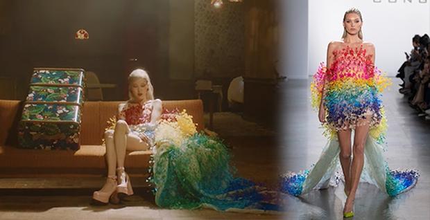 HOT: Rosé tiếp tục mặc đồ Công Trí trong MV Gone! - Ảnh 1.