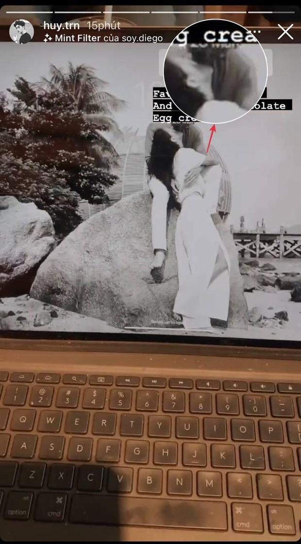 Khoe bồ theo style Ngô Thanh Vân: Đăng ảnh Huy Trần công khai, nhưng muốn soi thì chịu khó trẹo cổ một xíu - Ảnh 4.
