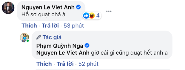 Định nghĩa thính 18+ đều như vắt tranh: Quỳnh Nga cứ khoe body ngồn ngộn, Việt Anh auto vào bình luận nghe mà đỏ cả mặt - Ảnh 6.
