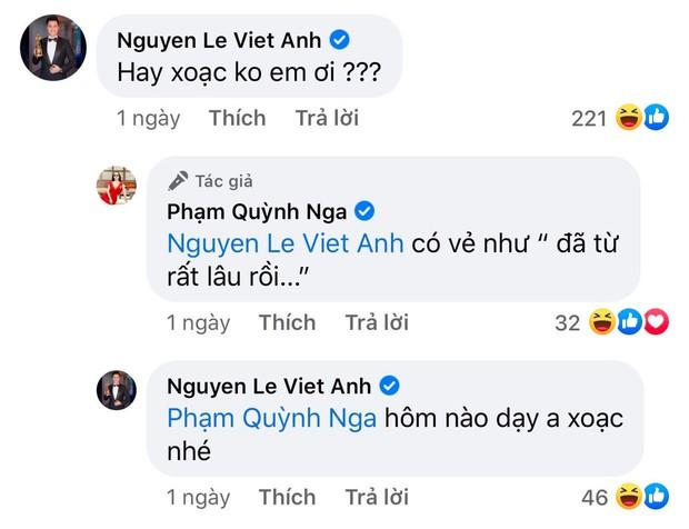 Định nghĩa thính 18+ đều như vắt tranh: Quỳnh Nga cứ khoe body ngồn ngộn, Việt Anh auto vào bình luận nghe mà đỏ cả mặt - Ảnh 10.