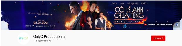 Only C vừa đạt nút Vàng YouTube, bị netizen đào lại phát ngôn: Ca khúc của tôi đẳng cấp thế giới nhưng không ai nghe - Ảnh 1.