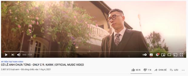 Only C vừa đạt nút Vàng YouTube, bị netizen đào lại phát ngôn: Ca khúc của tôi đẳng cấp thế giới nhưng không ai nghe - Ảnh 6.