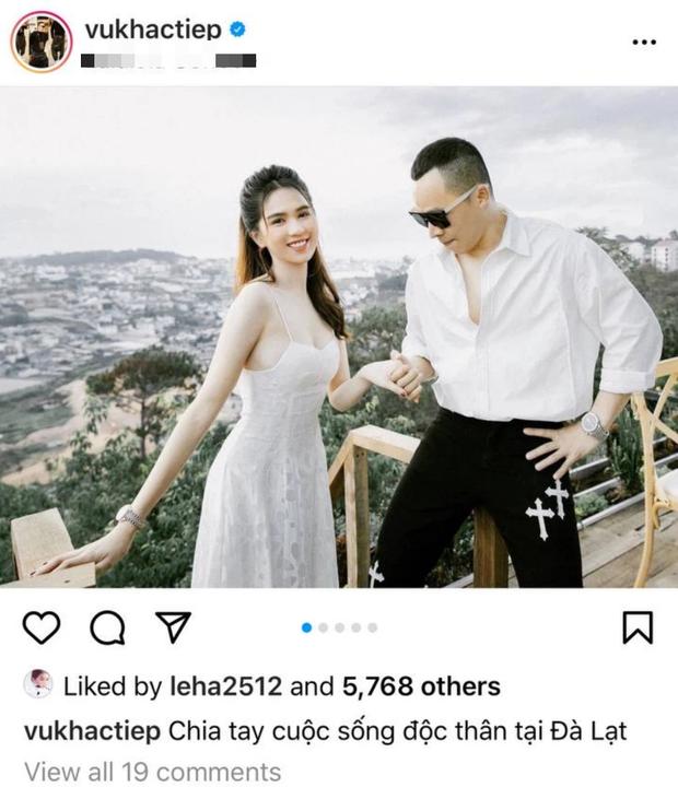 Vũ Khắc Tiệp tuyên bố thoát kiếp FA kèm ảnh tình tứ với Ngọc Trinh, netizen nghi cả hai chốt kèo cưới sau 10 năm friendzone - Ảnh 2.