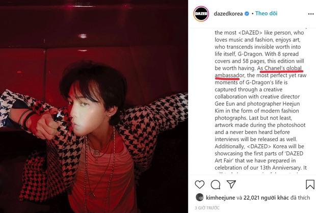 Ảnh G-Dragon trên tạp chí gây sốt: Tận 8 bìa và 58 trang, danh xưng liên quan tới Chanel khiến netizen dậy sóng! - Ảnh 1.