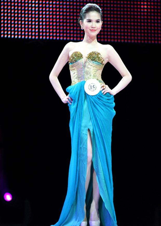 Clip phỏng vấn sau đăng quang Hoa hậu 10 năm trước của Ngọc Trinh: Body đẳng cấp từ xưa nhưng phát biểu ấp úng quá! - Ảnh 4.