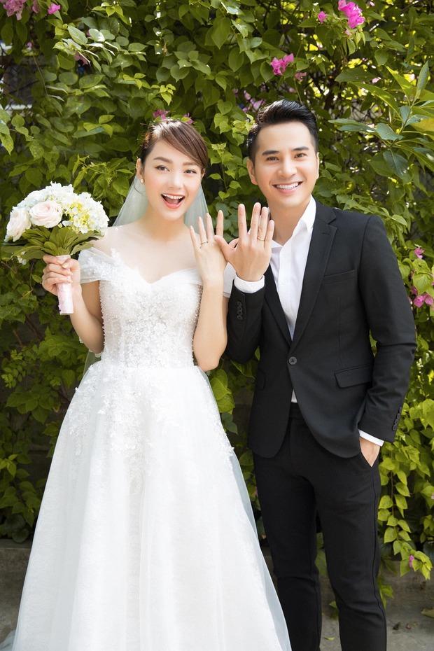Hé lộ hậu trường ảnh cưới của Minh Hằng, chú rể là người trong showbiz chứ không phải đại gia? - Ảnh 4.