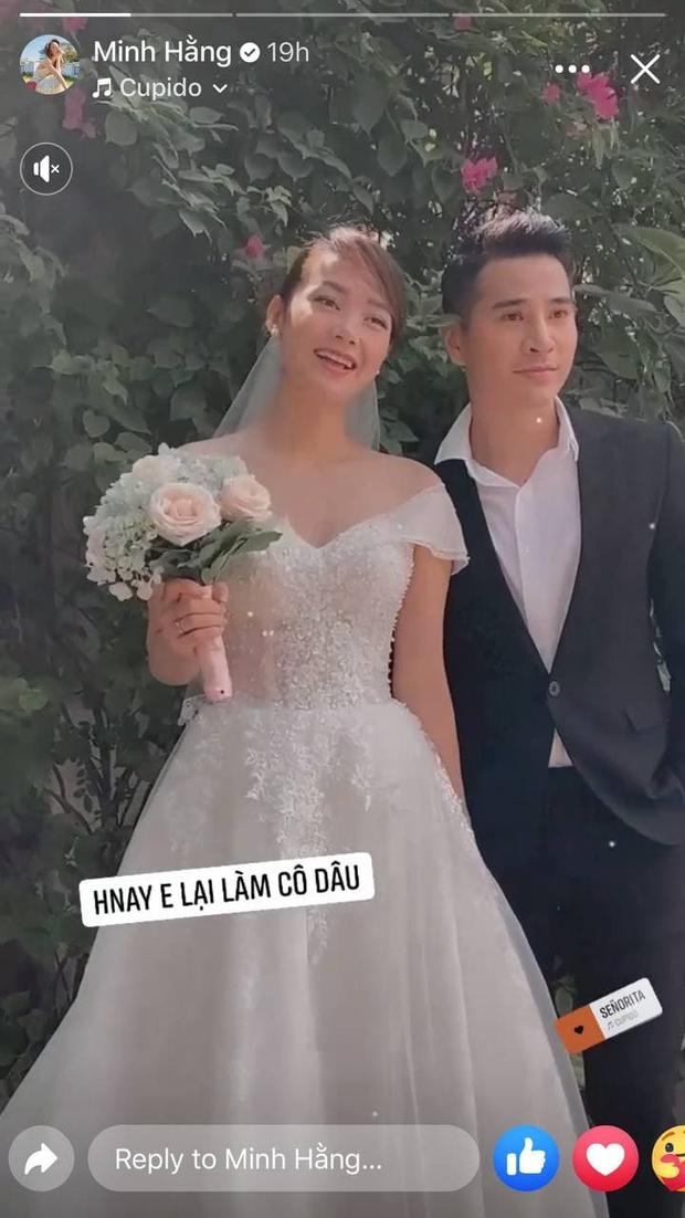 Hé lộ hậu trường ảnh cưới của Minh Hằng, chú rể là người trong showbiz chứ không phải đại gia? - Ảnh 2.
