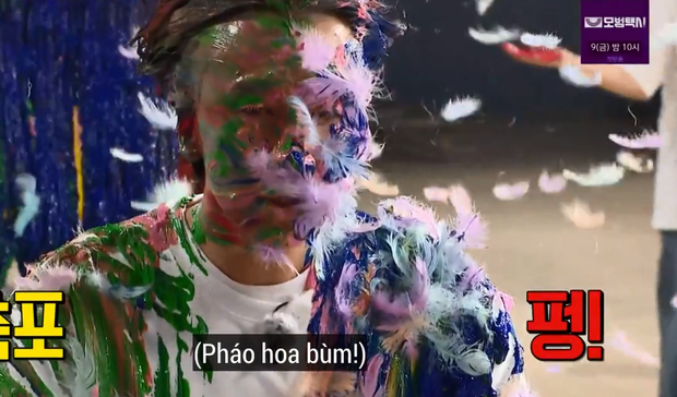 Lee Kwang Soo xui nhì thì không ai xui nhất: Bị quét sơn, đổ dầu hắc lên người và biến thành... quạ đen - Ảnh 2.