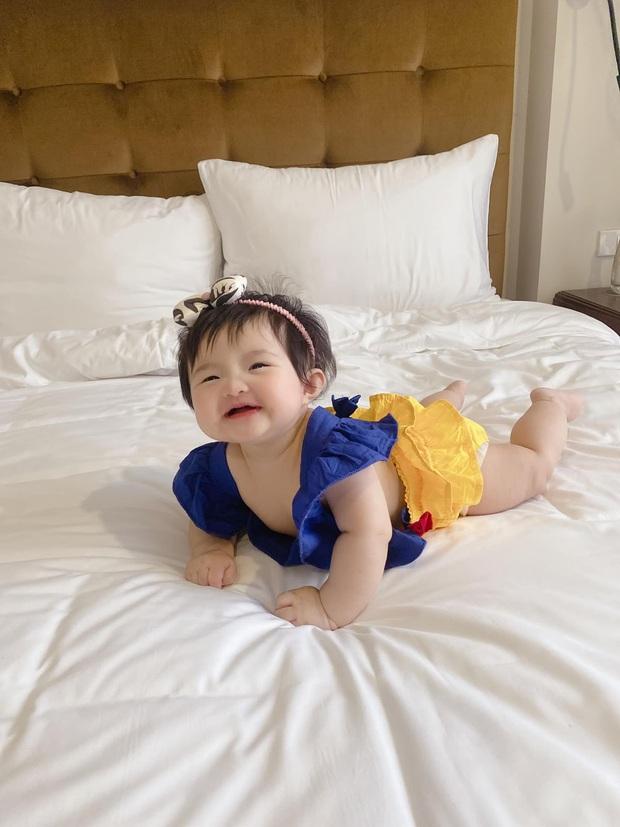 Winnie được Đông Nhi hóa trang thành bạch tuyết siêu cưng, netizen vội đoán giới tính nhóc tỳ thứ 2 tương lai nhờ 1 chi tiết - Ảnh 5.
