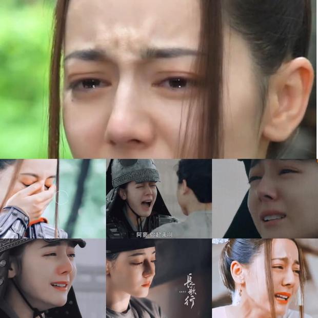 Lộ clip Địch Lệ Nhiệt Ba khóc bằng tiếng mẹ đẻ ở Trường Ca Hành, netizen vẫn khui chi tiết diễn xuất dở tệ? - Ảnh 3.