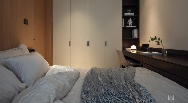 Tân trang căn hộ 125m2, kỹ sư IT khiến hội cuồng công việc thấy là ghiền với phong cách tối giản đẹp tinh tế - Ảnh 9.