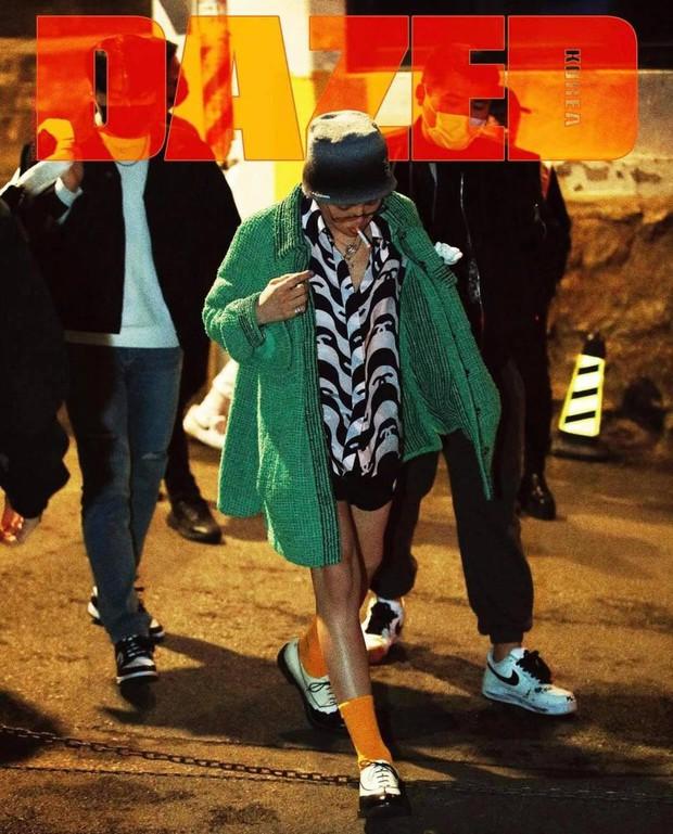 Ảnh G-Dragon trên tạp chí gây sốt: Tận 8 bìa và 58 trang, danh xưng liên quan tới Chanel khiến netizen dậy sóng! - Ảnh 3.