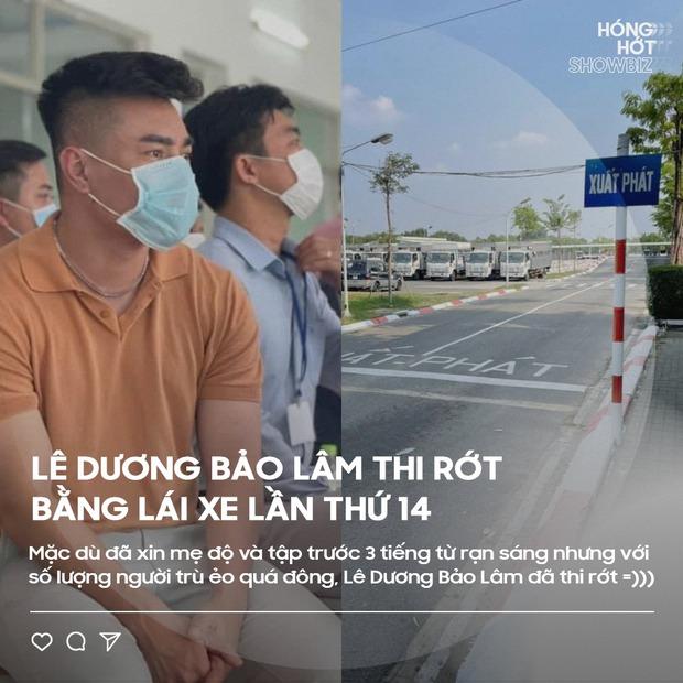 Phản ứng của Quỳnh Trần JP khi hay tin Lê Dương Bảo Lâm thi rớt bằng lái lần thứ 14, bình luận phản dame của fan mới gây chú ý - Ảnh 1.