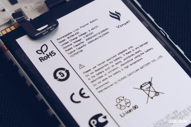 Vsmart Star 5 dùng pin do Vingroup tự sản xuất, không còn dựa vào nhà sản xuất bên ngoài - Ảnh 2.