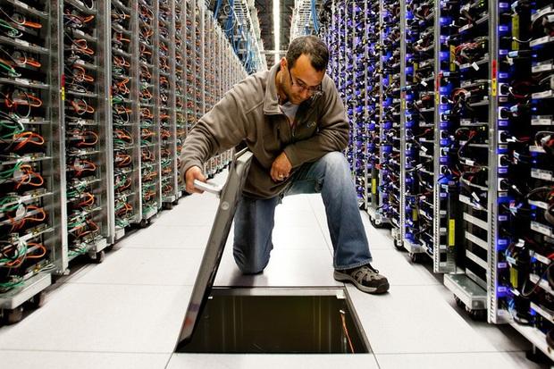 Bên trong trung tâm dữ liệu kín cổng cao tường của Google - Ảnh 2.
