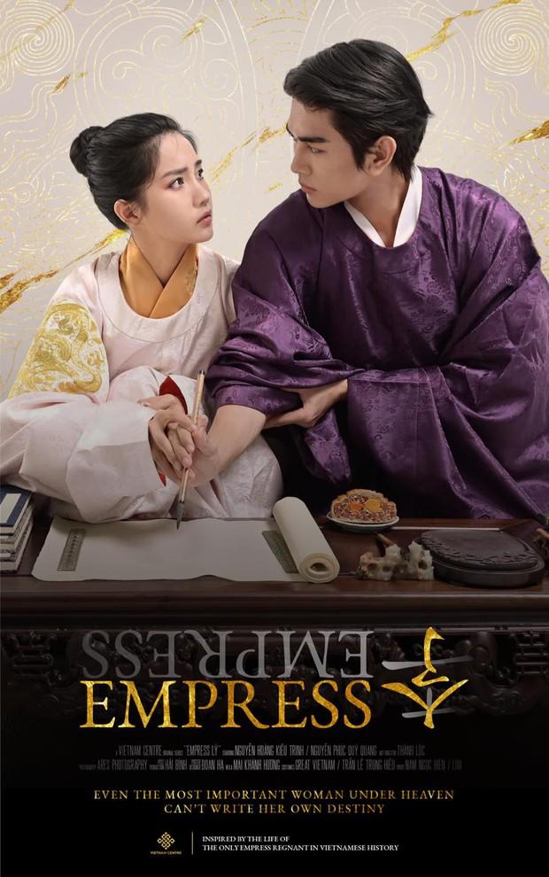 Phim cổ trang về nữ hoàng đế duy nhất của Việt Nam khiến netizen đứng ngồi không yên vì tạo hình chuẩn chỉ - Ảnh 6.