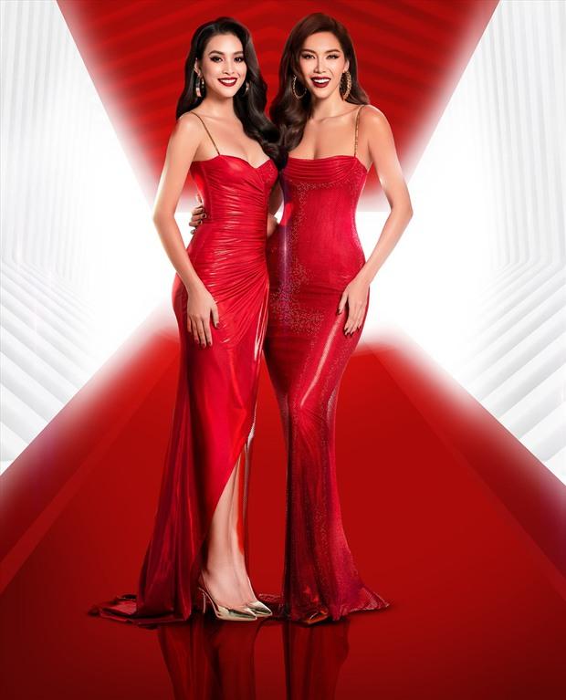 Đã chụp hẳn poster với Minh Tú nhưng Hoa hậu Tiểu Vy vẫn bị đá khỏi ghế HLV trong show thực tế mới? - Ảnh 1.