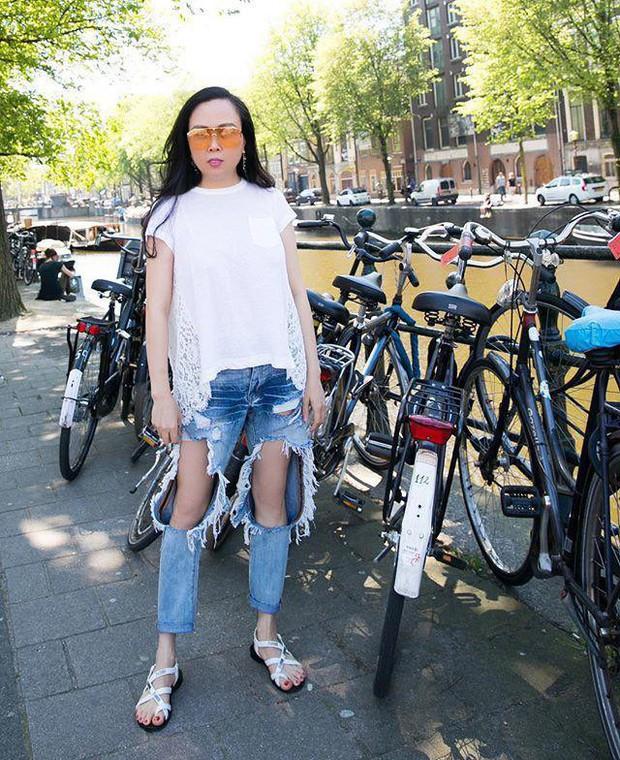 Bạn thân Hà Tăng diện quần jeans mà dân tình xa lánh, lặp lại vết xe đổ từ style thảm họa của Hương Giang - Phượng Chanel - Ảnh 6.