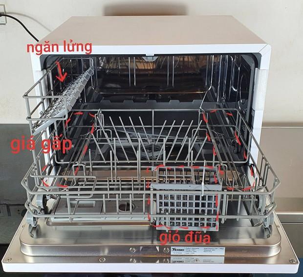 Vướng cả loạt gạch đầu dòng không nên mua, mẹ Sài Gòn vẫn quyết sắm máy rửa bát vì những điều không thể cãi lại này - Ảnh 8.
