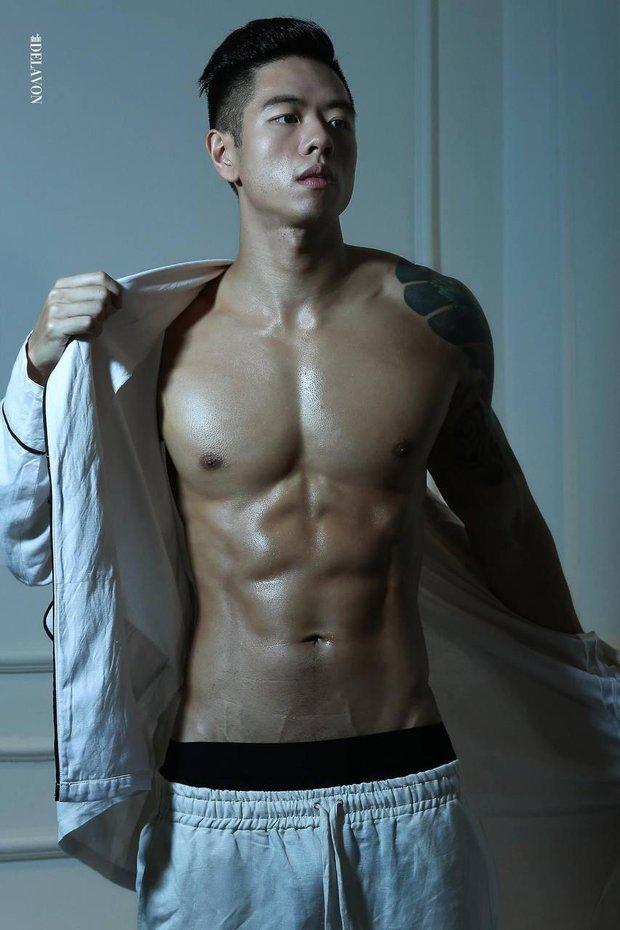 Trai đẹp 6 múi Michael Trương (Người Ấy Là Ai) gây choáng khi công bố loạt ảnh thời nặng... hơn 100kg - Ảnh 6.