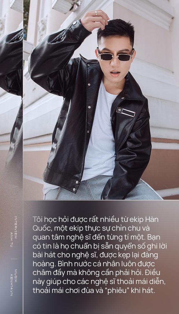 Anh Tú: Hòa Minzy không hề bị lu mờ, chỉ là do chị Uyên Linh và Văn Mai Hương hát quá hay mà thôi - Ảnh 5.