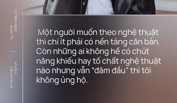 Anh Tú: Hòa Minzy không hề bị lu mờ, chỉ là do chị Uyên Linh và Văn Mai Hương hát quá hay mà thôi - Ảnh 9.
