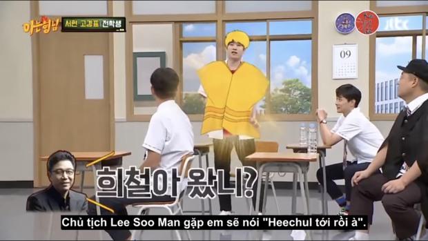 Cách chào như tiên nữ giáng trần của Kim Heechul thời thực tập sinh khiến các fan cạn lời! - Ảnh 3.