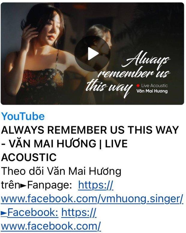 Văn Mai Hương một mình hát Always Remember Us This Way liệu có hay hơn bản mash-up với Hoà Minzy? - Ảnh 10.