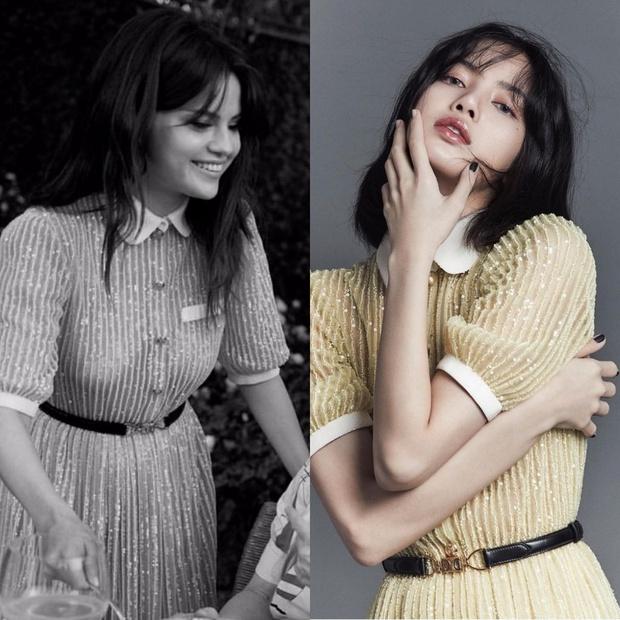 4 lần Lisa đụng hàng Selena Gomez: Đụng cả món hàng hiệu giá gần 100 triệu nhưng ai đỉnh hơn? - Ảnh 3.