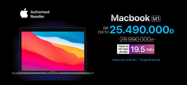 MacBook M1 giảm sâu tận 7 triệu đồng, thời cơ lên đời tới rồi! - Ảnh 4.