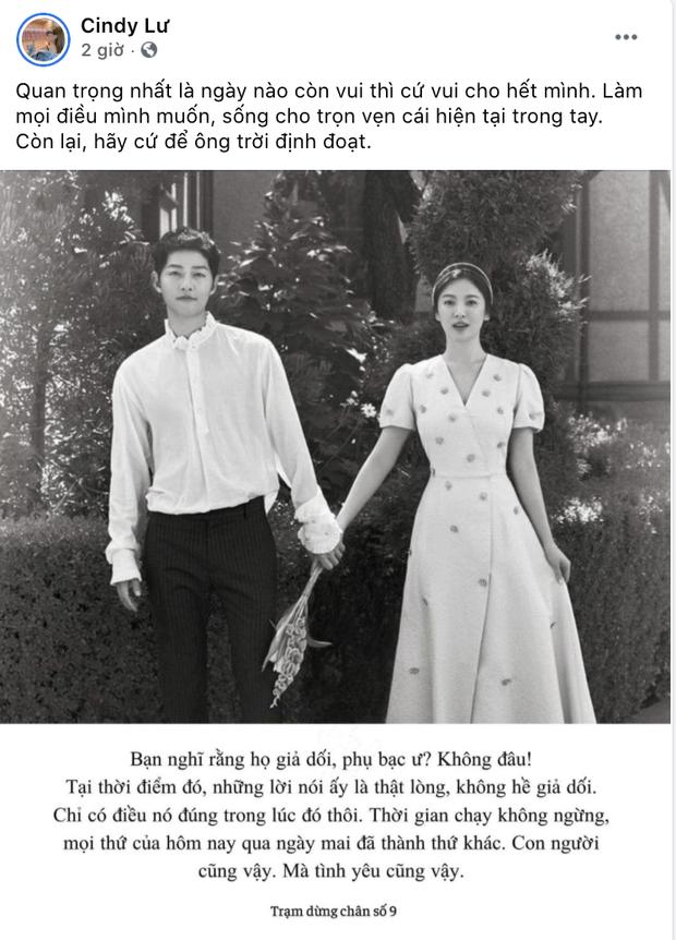 Vợ cũ Hoài Lâm bỗng đăng ảnh cặp đôi Song Song và ẩn ý về chuyện bội bạc: Hãy để ông trời định đoạt? - Ảnh 2.