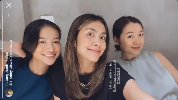 Hà Tăng khoe visual trong tiệc sinh nhật Phương Khánh, mẹ 2 con mà nhan sắc lấn át cả Hoa hậu trái đất - Ảnh 3.