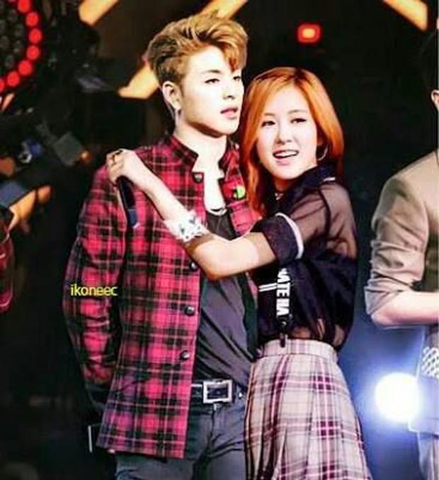 Bị YG ngăn cấm nhưng giữa BLACKPINK và iKON vẫn tồn tại cặp đôi ảnh ghép Rosé và Junhoe có tương tác cực đáng yêu! - Ảnh 8.
