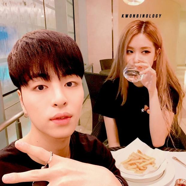 Bị YG ngăn cấm nhưng giữa BLACKPINK và iKON vẫn tồn tại cặp đôi ảnh ghép Rosé và Junhoe có tương tác cực đáng yêu! - Ảnh 10.
