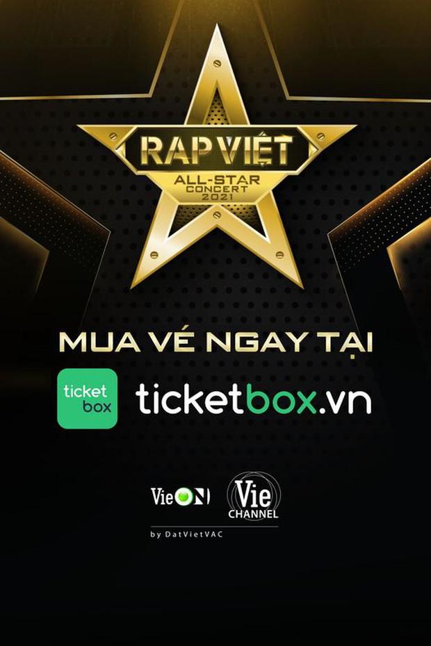 Live Concert Rap Việt chốt ngày comeback 10/4, fan săn vé trước giờ G - Ảnh 3.