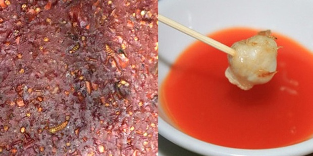 Hàng loạt vụ đồ ăn có giòi nhung nhúc bị phanh phui: Từ sự cẩu thả trong chế biến đồ ăn đến sức khỏe người tiêu dùng bị đe dọa - Ảnh 5.