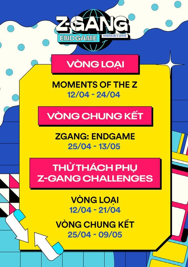 ZGang Endgame: Cuộc thi khoe ảnh kỷ yếu lớn nhất năm, hội tụ dàn giám khảo khủng của Vbiz, tổng trị giá giải thưởng lên tới 500 triệu đồng - Ảnh 4.