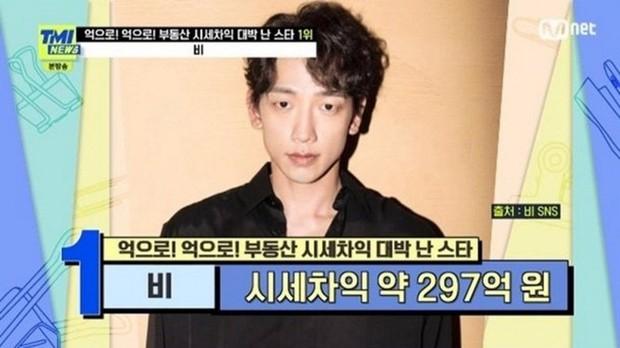 Công bố top đại gia bất động sản Kbiz: Bi Rain - Park Seo Joon so kè, tiểu tam Penthouse Eugene giàu từ phim đến đời thực? - Ảnh 2.
