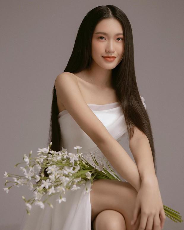 """Top 10 Hoa hậu Việt Nam - Doãn Hải My nói gì khi bị anti-fan hùa vào bình luận ác ý """"trà xanh giật chồng""""? - Ảnh 1."""
