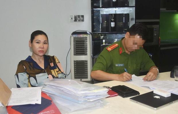 Nữ đại gia Vũng Tàu, vợ của một diễn viên có tiếng bị bắt - Ảnh 2.