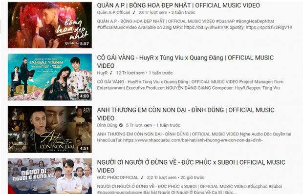 Chủ nhân ca khúc vượt mặt Binz - Đen Vâu lăm le #1 trending: Hiện tượng YouTube, từng lọt top ca khúc hot cùng Sơn Tùng và Jack - Ảnh 6.