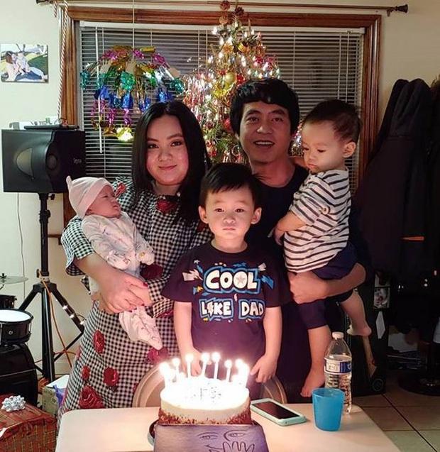 Xuân Mai hiếm hoi hé lộ cuộc sống và ảnh 3 con tại Mỹ, nhìn đến bé út mà ngỡ ngàng vì quá giống mẹ ngày xưa - Ảnh 9.