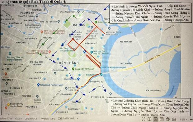 TP. Hồ Chí Minh cấm xe nhiều tuyến phố phục vụ giải Marathon quốc tế - Ảnh 2.