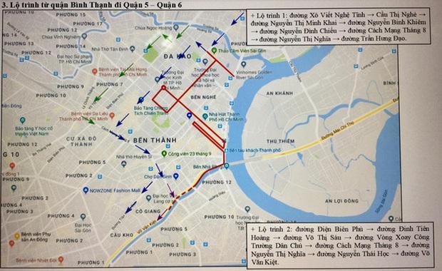 TP. Hồ Chí Minh cấm xe nhiều tuyến phố phục vụ giải Marathon quốc tế - Ảnh 3.